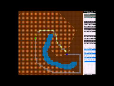 Visualizing Pathfinding Algorithms in Processing 3