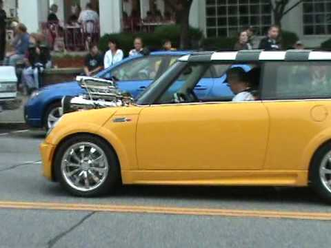 hemi powered mini cooper youtube. Black Bedroom Furniture Sets. Home Design Ideas