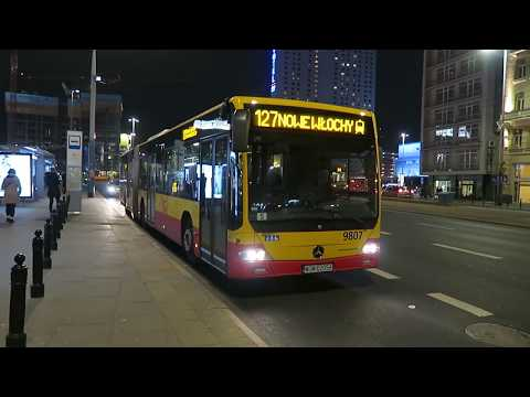 Warsaw Buses At Centrum 7 March 2019