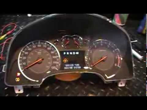 2007 - 2009 Equinox, Torrent & XL7 Instrument Cluster ...