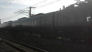 787系BM11 臨時特急かもめ68号長崎本線伊賀屋ー神埼にて