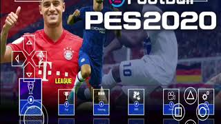 PES 2020 PPSSPP Camera PS4 Update Kits 2020 & Update