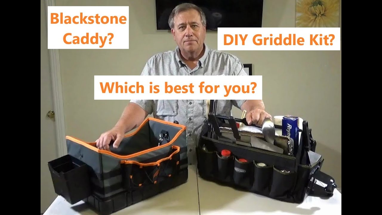 Blackstone Caddy Or Diy Griddle Kit Which Is Best For You Youtube