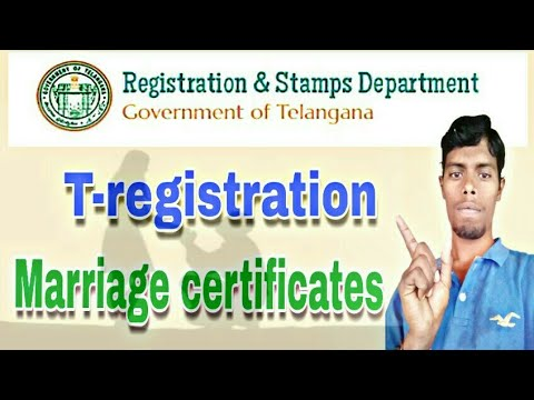 How To Apply Marriage Certificate | Stamps And Registration | Telugu10mm
