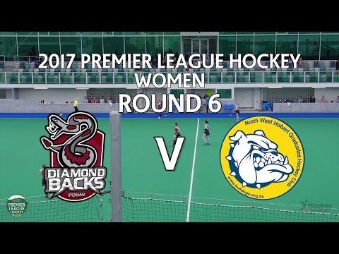 Diamondbacks v North West Grads | Women Round 6 | Premier League Hockey 2017
