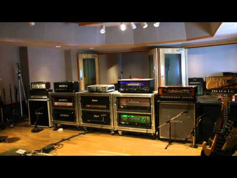 Blues City Music Amp HD Demo @ Ocean Way Studios for Belmont University in Nashville, March 2012
