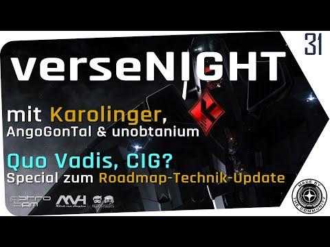 verseNIGHT #31 🌟 STAR CITIZEN Talk & Musik mit AstroSam & Mitch 🚀 Karolinger, Roadmap & Technik