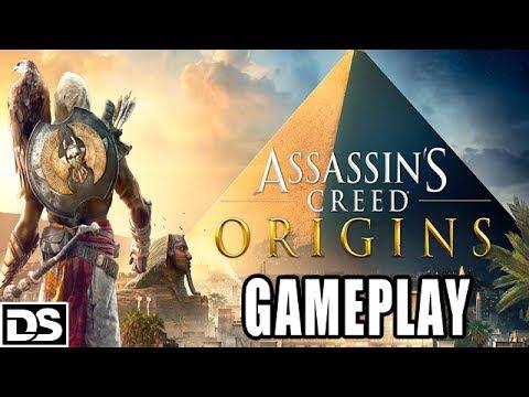 Assassin's Creed Origins Gameplay German – Looten, Übernatürliches, Kampf, Bayek