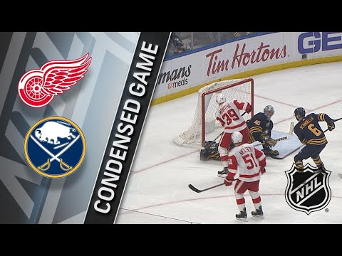 03/29/18 Condensed Game: Red Wings @ Sabres