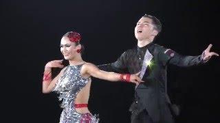 4K 2016 Legend of the Japanese Dance Sport スーパージャパンカップJBDF選抜 | 藤井創太・吉川あみ組(高校生) | 優勝オナー CHA CHA CHA