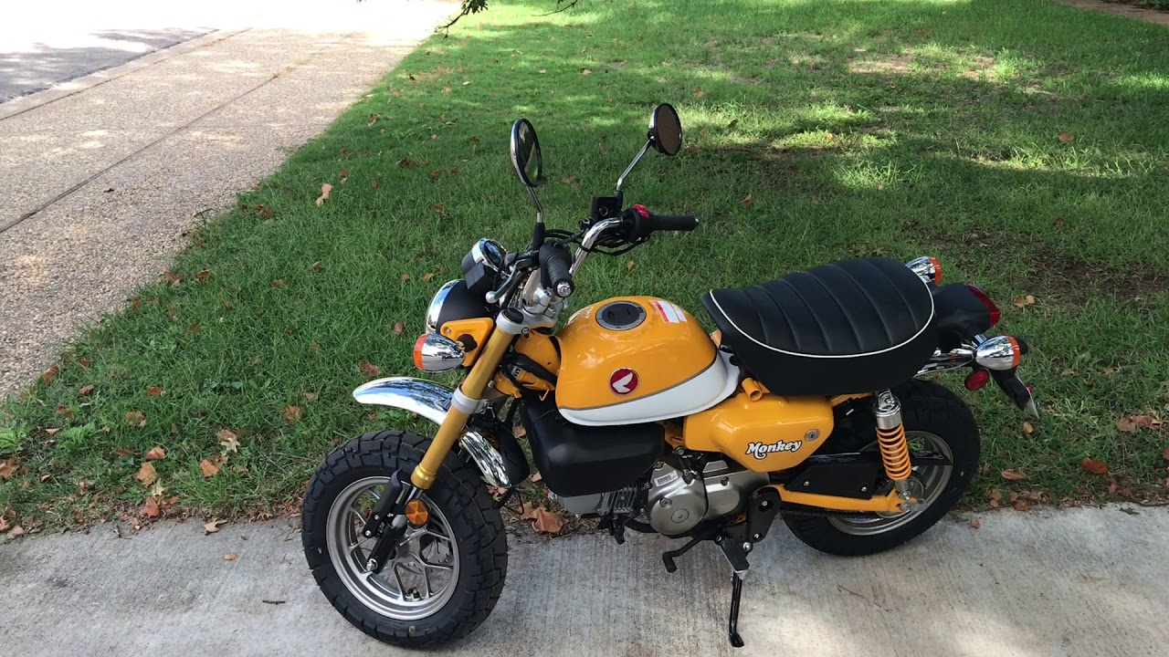 my 2019 honda monkey motorcycle review and ride youtube. Black Bedroom Furniture Sets. Home Design Ideas
