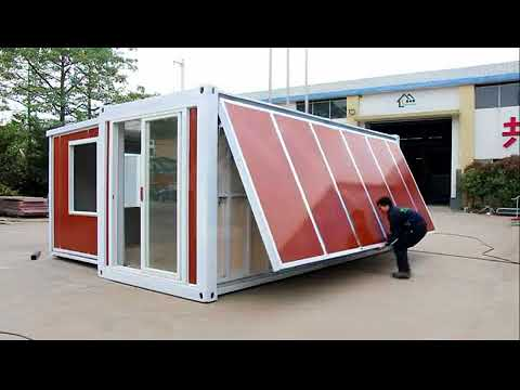 China Expandable container house – -10 minutes one house!