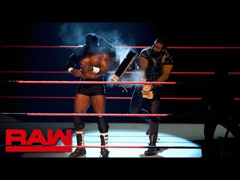 Elias cracks a guitar across Bobby Lashley's back: Raw, Dec. 17, 2018