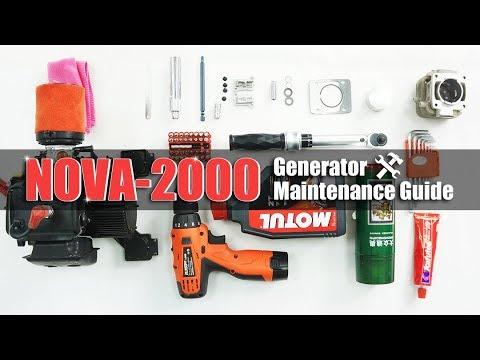 Nova 2000 Generator Maintenance Guide