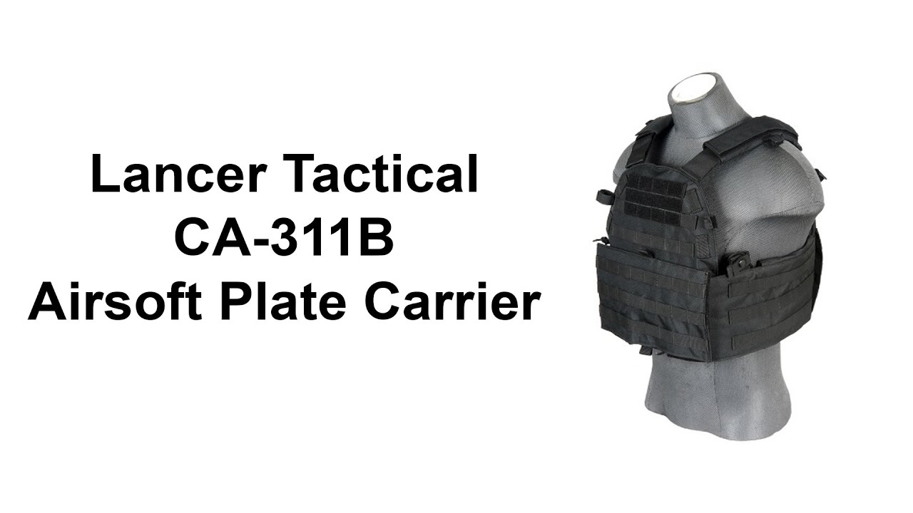Download Lancer Tactical CA-311B 6094 Airsoft Plate Carrier
