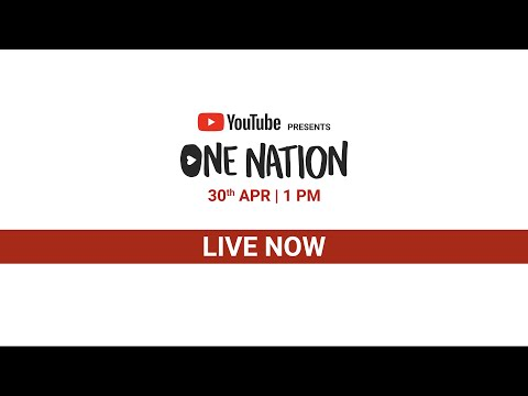 Presents One Nation  30th April 2020  OneNationAtHome