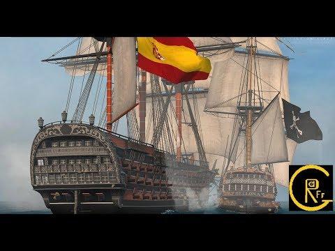 "Век парусников Naval Action или Пираты Карибского моря ""корсары"" онлайн #2"