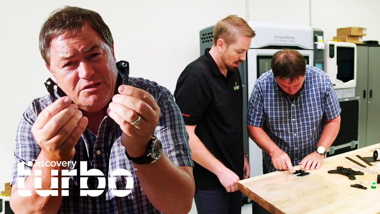 Mike presenta la impresión en 3D para el remplazo de piezas | Joyas Sobre Ruedas | Discovery Turbo