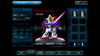 SD Gundam Online Beam Saber Zeta Gundam (AS) Blueprint Mix Plan