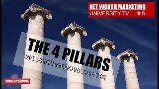 NET WORTH MARKETING US - SHOW #5 - THE 4 PILLARS OF SUCCESS