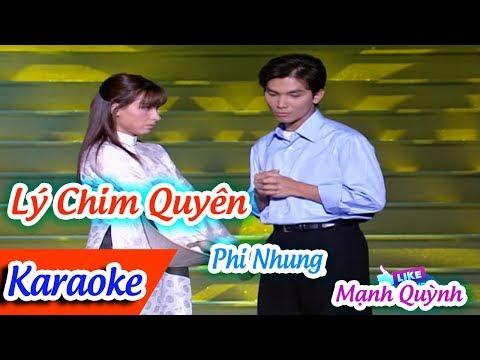 Lý Chim Quyên Karaoke Tân Cổ | Phi Nhung Mạnh Quỳnh