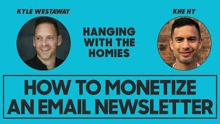 How to Monetize an E-Mail Newsletter