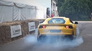 The latest Hypercars and Supercars leave the paddock in style!!