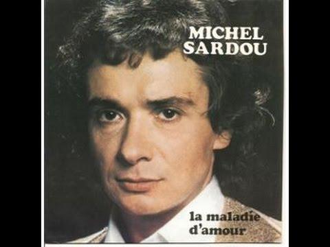 La Maladie D'Amour - Sardou (Piano + LYRICS)