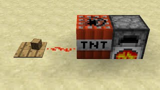 How to Make a Furnace TNT Time Bomb in Minecraft