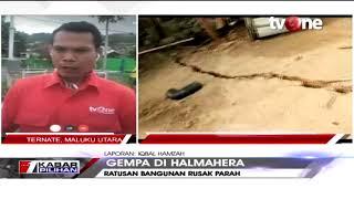 Download Video Gempa Bumi di Halmahera, Dua Orang Meninggal Dunia MP3 3GP MP4