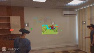 AR shooter game in any classroom.