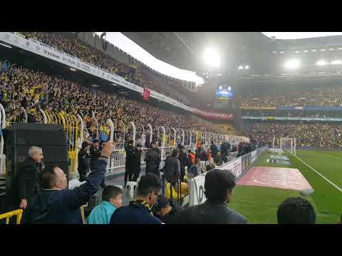 Maç öncesi Alex de Souza tezahüratları | Fenerbahçe 0-0 Galatasaray 17.3.2018