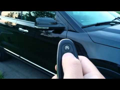 Key fob issue with 2012 Ford Explorer Limited