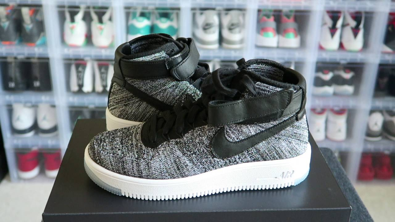 nike air force 1 ultra flyknit low oreo
