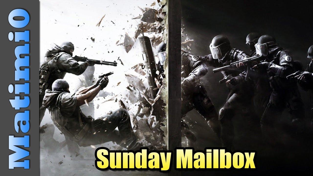 Shield Charge Through Walls - Sunday Mailbox - Rainbow Six Siege