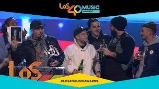 Portugal. The Man ganan el premio Artista Black Jack | LOS40 Music Awards 2017