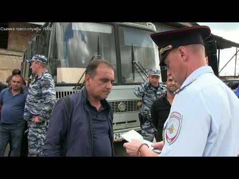 Полицейские ищут нелегалов на базе. Киров