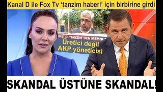 'Tanzim' haberinde skandal üstüne skandal! Fox Tv ile Kanal D sunucuları birbirine girdi!
