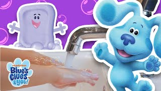 How to Wash Your Hands with Josh and Blue! | Blue's Clues & You!