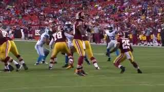 RGIII takes a tough hit from Phillip Hunt - 2015 NFL Preseason Week 2 highlight