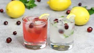 Holiday Lemonade Cocktails