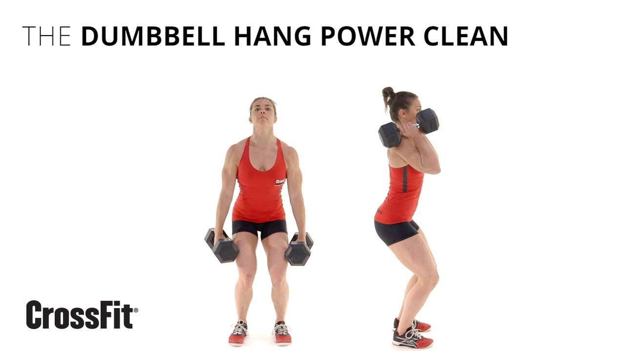 The Dumbbell Hang Power Clean - YouTube