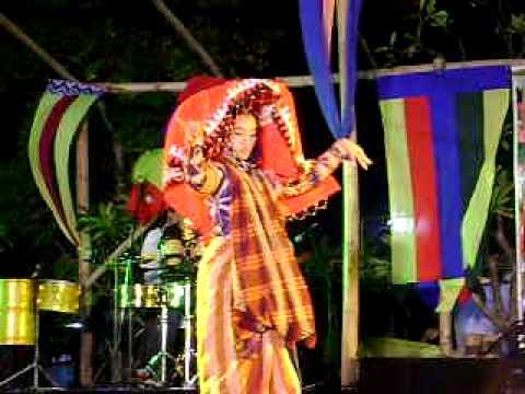 MAE-AK,zhad2x performing,T'boli dance