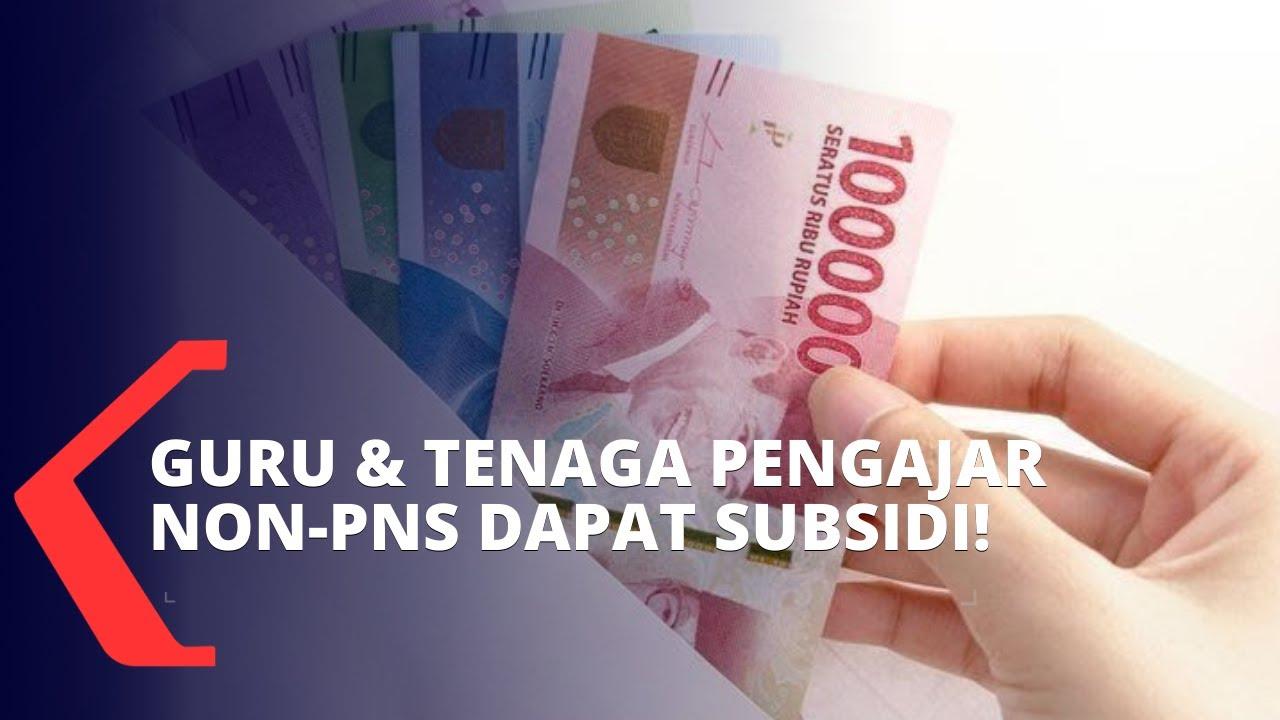 Download Guru Honorer hingga Tenaga Pendidik Non-PNS Dapat Subsidi Gaji Rp 1,8 Juta, Ini Syaratnya