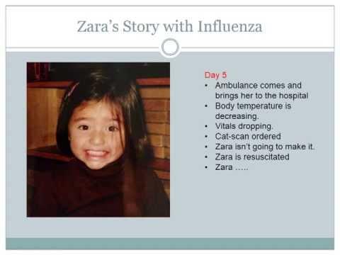 Zara's Story: The Influenza Virus can Kill: The dangerous virus, the flu... A mother's Story
