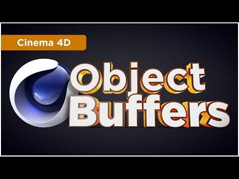 Cinema 4D Object Buffers