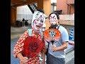 Ofudamaki - Japanese Festival with Men in Women's Kimono