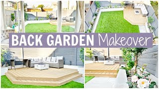 BACK GARDEN MAKEOVER - BEFORE & AFTER | Alex Gladwin