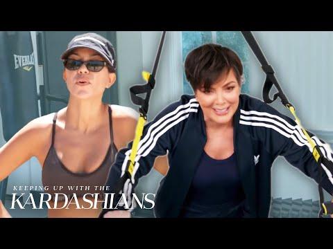 Favorite Kardashian Workout Routines | KUWTK | E!