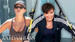 Favorite Kardashian Workout Routines | KUWTK | E!